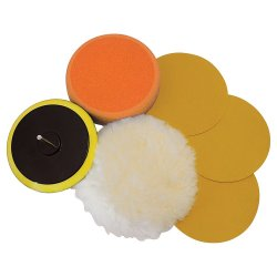 6Pce Sanding & Polishing Kit 125mm
