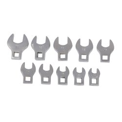 10Pce Crows Foot Spanner Set 10 - 19mm
