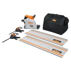 4Pce 1400W Track Saw Kit TTS1400KIT