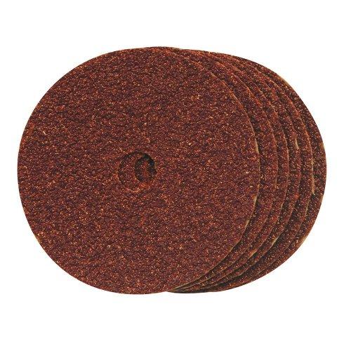 100mm Fibre Discs 100 x 16mm 60 Grit [Pack of 10]