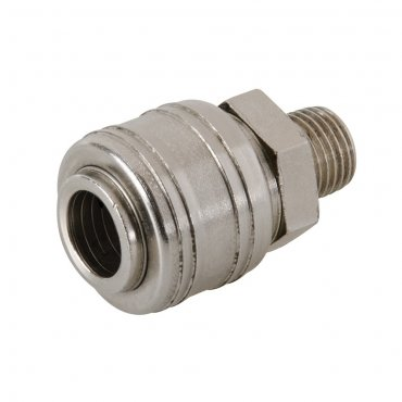 Euro Air Line Male Thread Quick Coupler 1/4in BSP