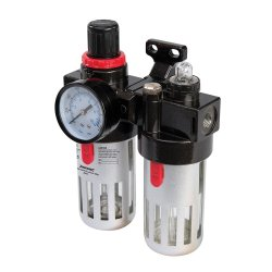 Air Filter Regulator & Lubricator 150ml