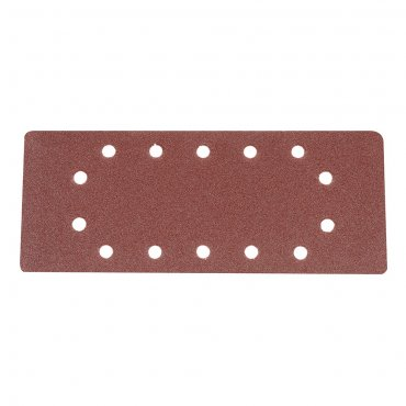 1/2 Sanding Sheets Punched 80 Grit [Pack of 10]