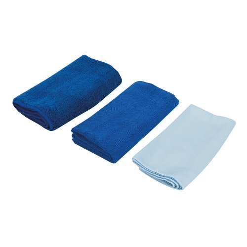 3Pce Microfibre Cloth Cleaning Set
