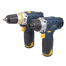 12V Drill Driver & Impact Driver Twin Pack GTPDDID12