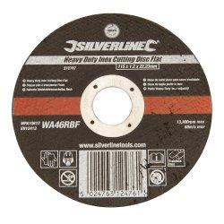 Heavy Duty Inox Slitting Disc Flat 115 x 1.2 x 22.23mm