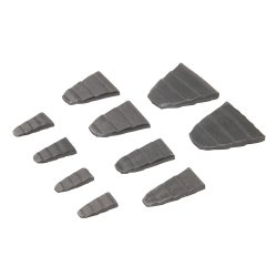 10Pce Hammer Wedge Set