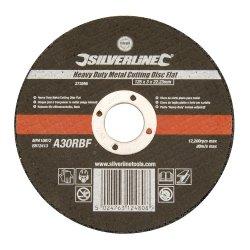 Heavy  Duty  Flat  Metal  Cutting  Discs