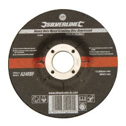 Heavy  Duty  Depressed  Metal  Grinding  Discs