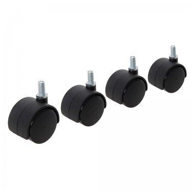 Twin Wheel Castor Bolt 40mm Bolt [Pack of 4]