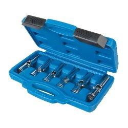 6Pce Glow Plug & Spark Plug Socket Set 3/8in / 8 - 16mm