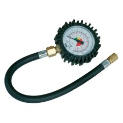 Tyre Dial Gauge 0 - 100psi (0 - 10bar)