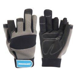 Part  Fingerless  Mechanics  Gloves
