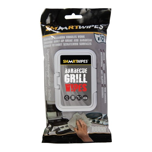 Barbecue Grill Cleaning Wipes [Pack of 12]
