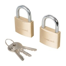 Keyed Alike Padlocks 40mm [Pack of 2]