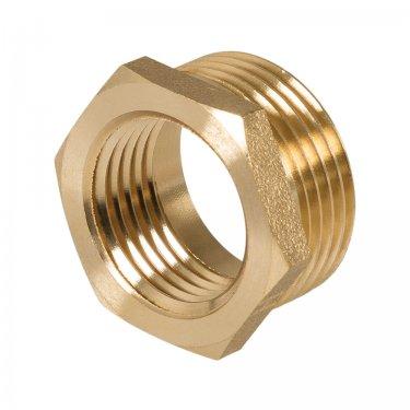 Brass Hexagon Bush