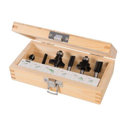 6Pce 1/4in Router Starter Kit