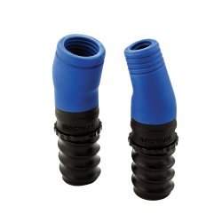 2Pce Dust Right Auxiliary Hose Port Set