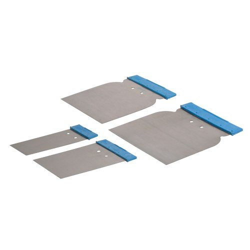 4Pce Body Filler Application Set 50, 80, 100 & 120mm