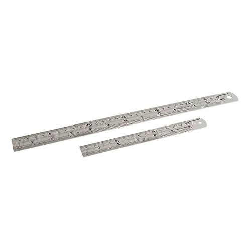 150 & 300mm Stainless Steel Rule Set