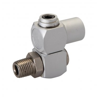 Air Line Swivel Connector 1/4in BSP