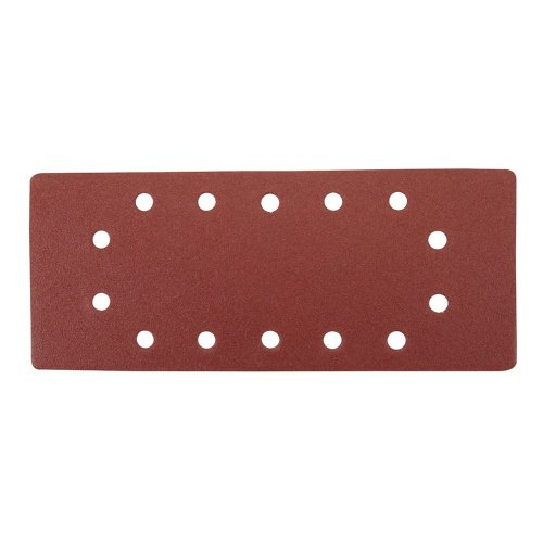 1/2 Sanding Sheets Punched 120 Grit [Pack of 10]