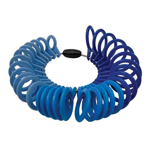 32Pce Plastic Ring Sizer Set A-Z & 1-6
