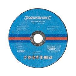 Metal Slitting Discs 100 x 1 x 16mm [Pack of 10]