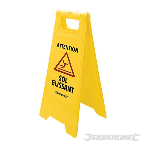 A Frame Caution Wet Floor Sign