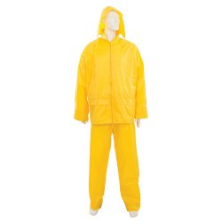 Yellow  Rain  Suits