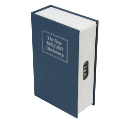 3-Digit Combination Book Safe Box 180 x 115 x 55mm