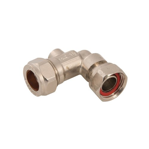 15mm x 1/2in Angled Service Valve