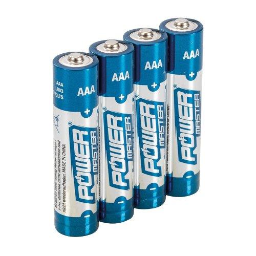 AAA Super Alkaline Battery LR03 [Pack of 4]