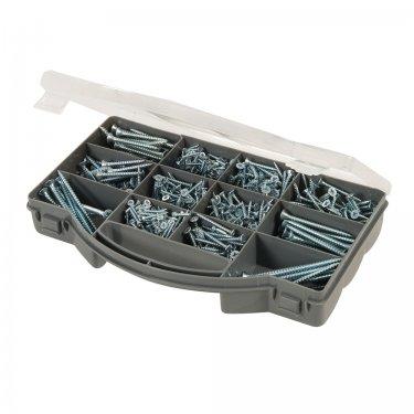 780Pce Zinc-Plated Countersink Screws Pack