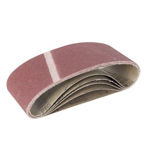 Aluminium Oxide Sanding Belt 80G [Pack of 5]