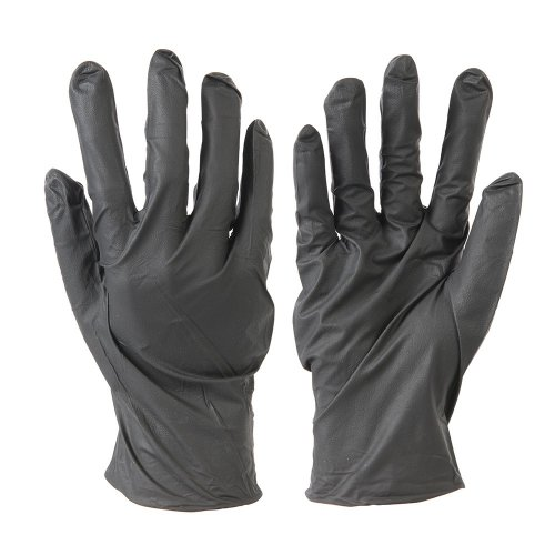 Disposable  Nitrile  Gloves  Powder-Free - Black