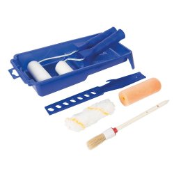 9Pce Decorators Roller & Brush Set