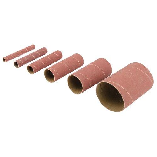6Pce Aluminium Oxide Sanding Sleeves 80G