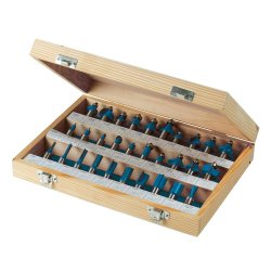 1/2in TCT Router Bit Set 30pce 1/2in