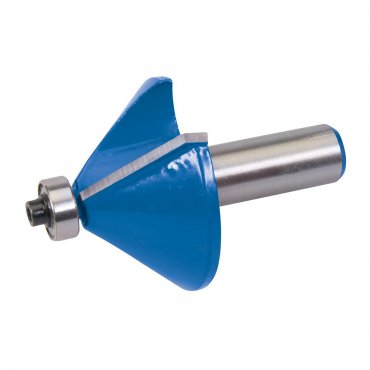 1/2in Chamfer Bit Cutter 47 x 25.4 x 45 Degree B12.7mm