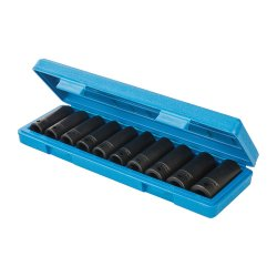 10Pce Deep Impact Socket Set 1/2in Drive 6pt Metric 10 - 22mm
