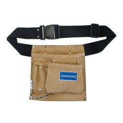 Nail & Tool Pouch Belt 5 Pocket 220 x 220mm