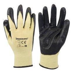 Kevlar Mix Nitrile Gloves [Large]