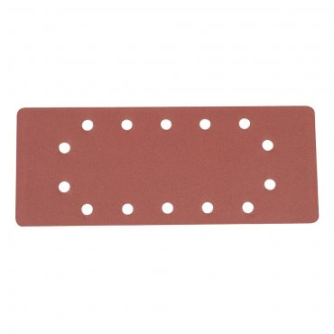 1/2 Sanding Sheets Punched 240 Grit [Pack of 10]
