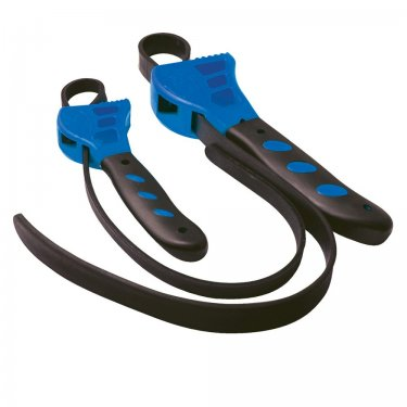2Pce Rubber Strap Wrenches Set 500 & 600mm