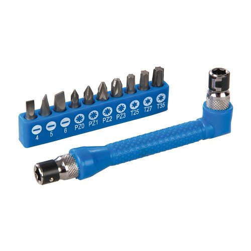 12Pce Angle Screwdriver Bit Holder Set