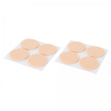 Self-Adhesive Felt Pad Protectors 38mm Round [Pack of 8]
