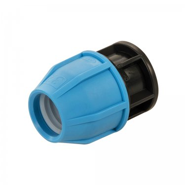 32mm MDPE Stop End