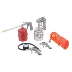 5Pce Air Tools & Compressor Accessories Kit