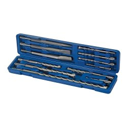 12Pce SDS Plus Masonry Drill & Steel Set
